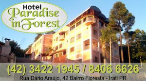 irati online - HOTEL PARADISE IN FOREST