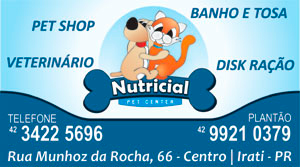 irati online - Nutricial Pet Center
